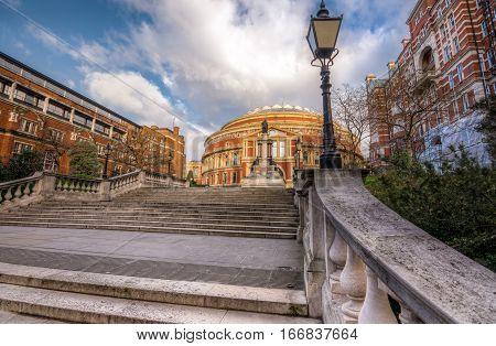 Royal Albert hall in south kensington London UK