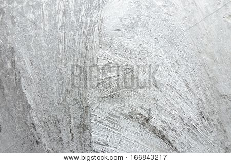 Windowpane With Frostwork