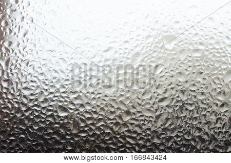 Window With Water Drops