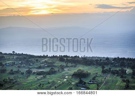 Great Rift Valley Landscape, Kenya