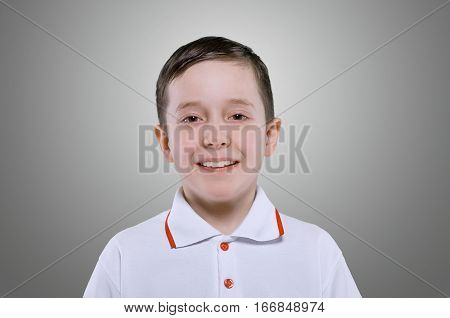Concept Of Smiling Little Boy