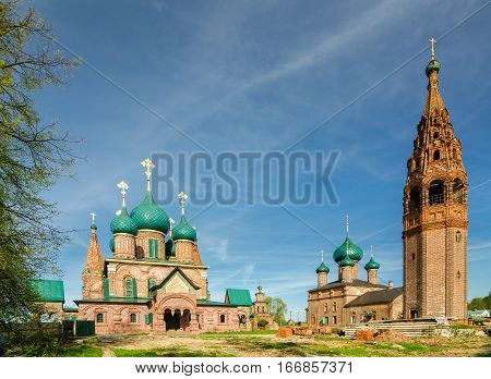 Ensemble Of The Churches Of St. John Chrysostom And Vladimir Icon Of The Mother Of God In Yaroslavl