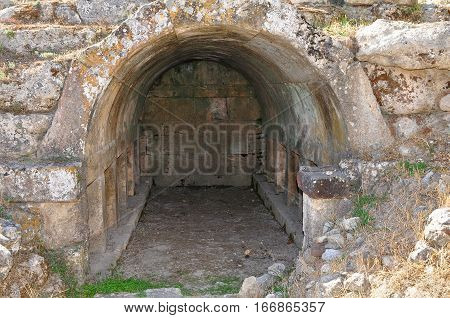 Charmylos tomb on island Kos, town Pili