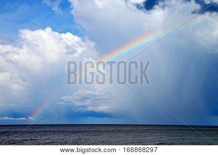 Rainbow  The Cloud Abstract   South China Sea