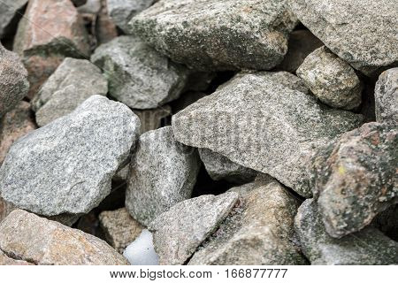 stone  texture photo, stone background , gray stones in the park