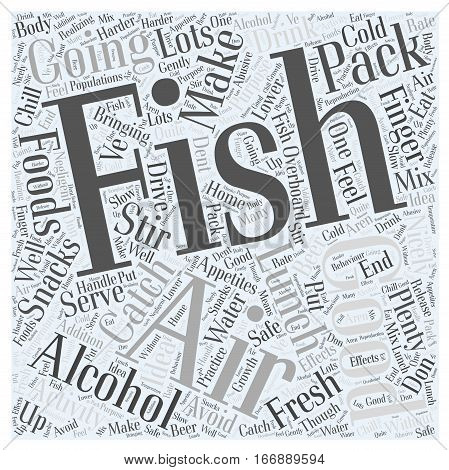 ice fishing is great fun for families Word Cloud Concept