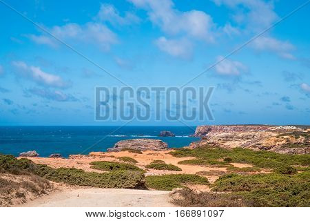 Portugal - Atlantic Ocean And Cliffs