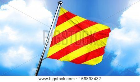 Yankee maritime signal flag, 3D rendering