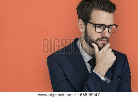 Business Attire Man Cool Posing