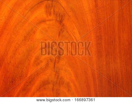 Antique orange brown cherry wood pattern background texture