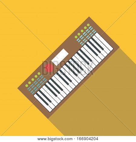 Synth icon. Flat illustration of synth vector icon for web design