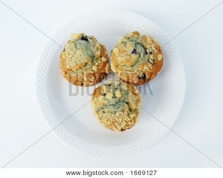 Too Sweet, Blueberry Muffins