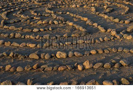 Labyrinth Rock Bakcground