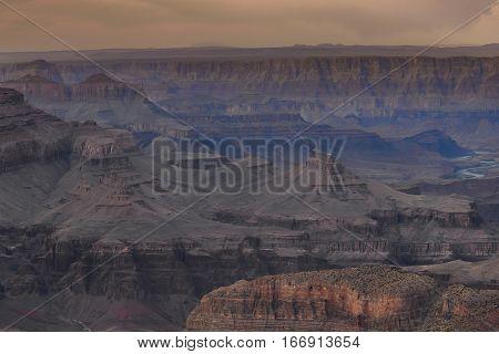 South Rim, Grand Canyon National Park Usa