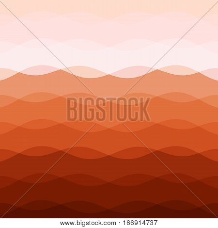 Abstract red tone background with curve lines, stock vector