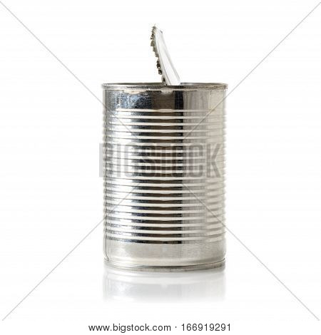 Opened Tin