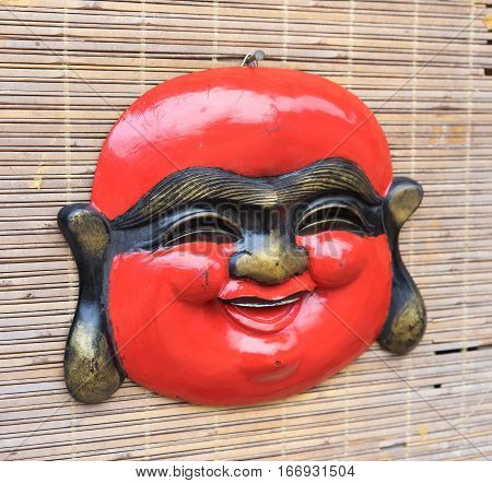 The Mask Nuanced Sold On The Streets In Hanoi, Vietnam