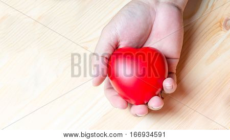 Asian Hand Hold Heart
