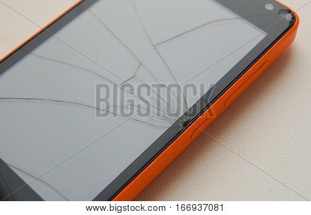 the phone is broken broken screen phone repair