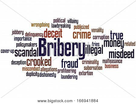 Bribery, Word Cloud Concept 7