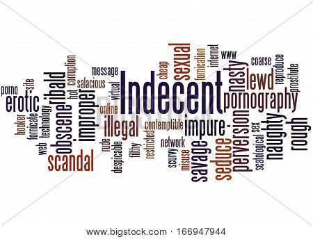 Indecent, Word Cloud Concept 2