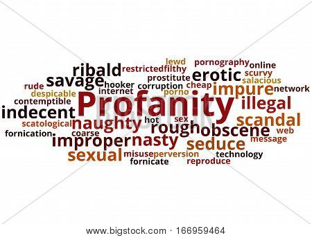 Profanity, Word Cloud Concept