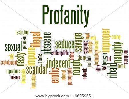 Profanity, Word Cloud Concept 2