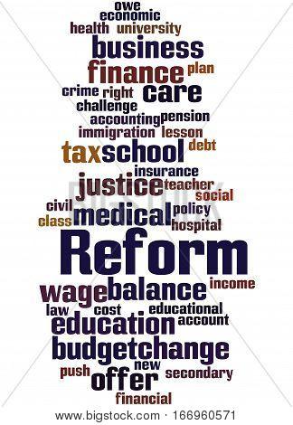 Reform, Word Cloud Concept 2