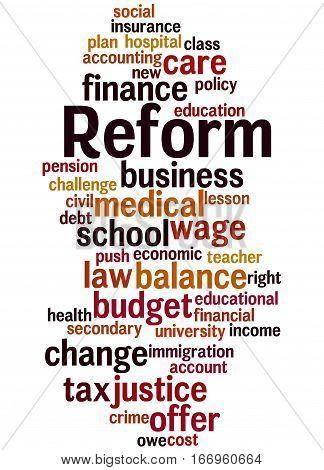 Reform, Word Cloud Concept 4
