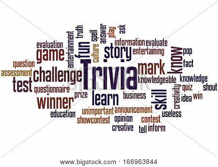 Trivia, Word Cloud Concept 2