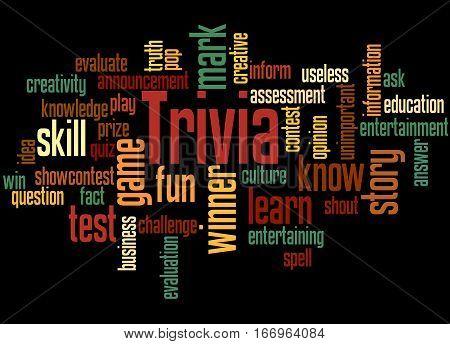 Trivia, Word Cloud Concept 6