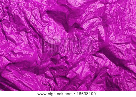 pink tissue paper texture for background, copy space