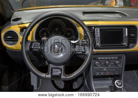 Dashboard Vw Beetle Cabrio