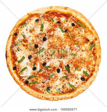 Delicious Classic Italian Seafood Pizza