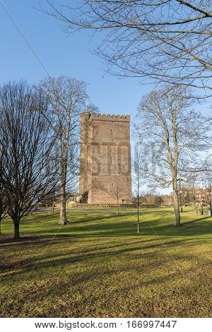 The ancient medieval fortification Karnan which is situated in the Swedish city of Helsingborg. The site is a location of many battles between Sweden and Denmark.