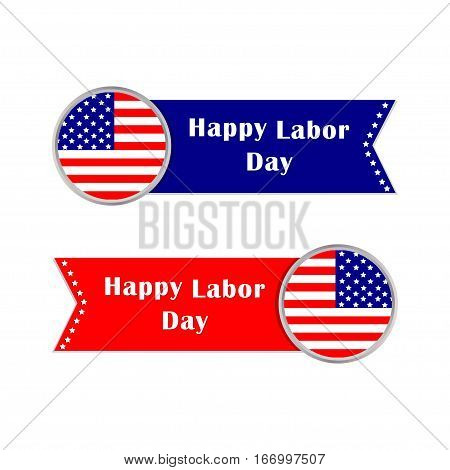 Happy Labor Day symbols, banners. Vector illustration
