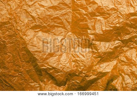 orange tissue paper texture for background, copy space