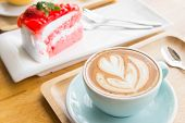 coffee cup cake milk top cafe view cakes food chocolate white breakfast dessert brown sweet drink cappucino espresso hot latte morning background cappuccino fresh plate table orange closeup art froth heart muffin foam tasty macchiato beverage cream aroma poster