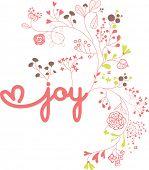 joy garden fonts poster