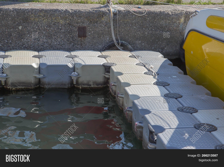 Plastic Floating Dock Image & Photo (Free Trial) | Bigstock