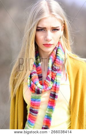 Hip Hop Girl With Fashionable Hair. Hipster Woman With Fashion Makeup. Fashion Portrait Of Woman. Wo