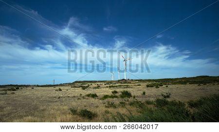 Paul Da Serra Wind Farm, Central Madeira