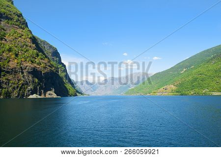 The Breathtaking Norwegian Aurlandsfjord And Naeroyfjord - Unesco Protected Fjord - Cruise From Flam