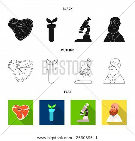 Isolated Object Of  And  Icon. Set Of  And  Stock Vector Illustration.