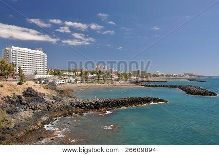 Playa de las Americas. Tenerife Island, Canaries