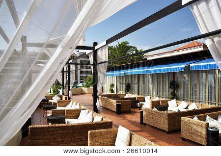 Trendy lounge