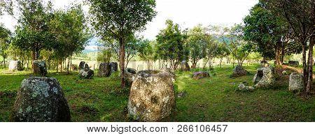 Plain Of Jars Site: 3.  Laos, Xiangkhoang Province.