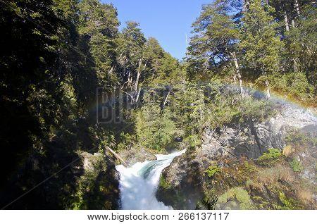 Los Alerces Waterfall - Patagonia - Argentina