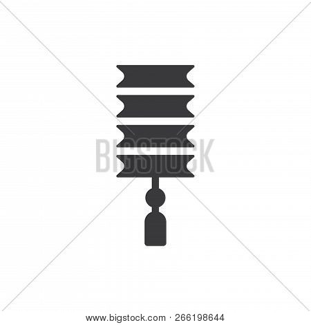 Chinese Lamp Vector Icon On White Background. Chinese Lamp Icon In Modern Design Style. Chinese Lamp
