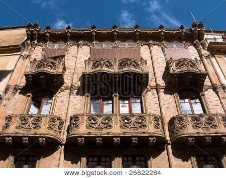 Caltagirone palace of Magnolie road don Luigi Sturzo